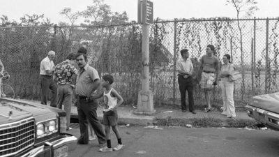 July 1977 murder scene