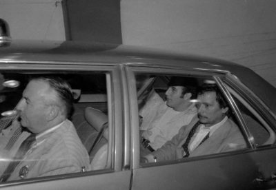 David Berkowitz taken to Kings County Hospital for psychiatric observation on Aug. 11, 1977