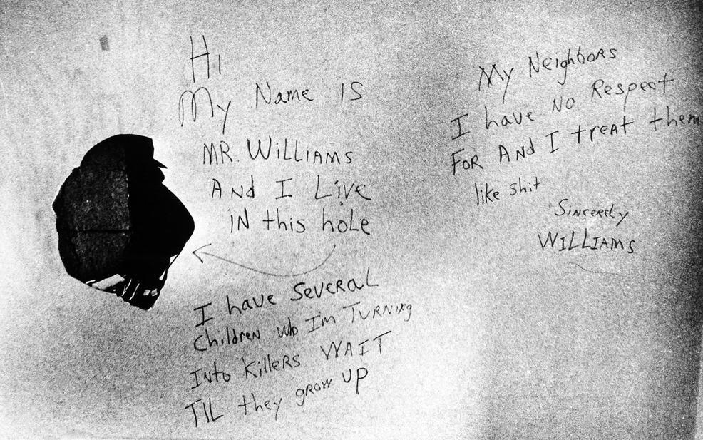 Messages found written on David Berkowitz's apartment