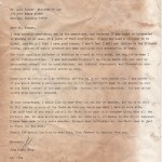 Letter from John Wayne Gacy to an attorney
