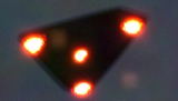 A later, and disputed, picture of a Belgium UFO or UAP