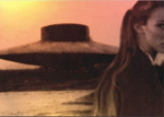 Vril UFO with Orsic in foreground