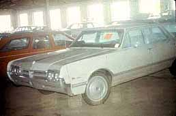 The missing Otero 1966 station wagon