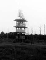 Radio tower at Jonestown
