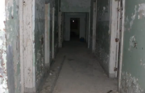 Hallway in Athens Mental Hospital