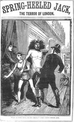 Spring Heeled Jack terrorized London