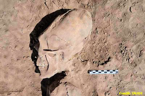 Ancient alien skull unearthed in Senora, Mexico