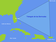 The Bermuda Triangle mapped