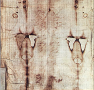 Fragment of the Shroud of Turin