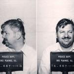 John Wayne Gacy laughing in his mugshot