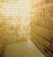 Gold bricks in Fort Knox