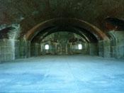 Underground vault in Fort Knox
