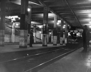 Hollywood Subway Terminal in 1946