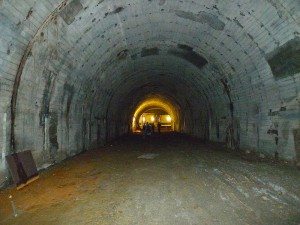 Old LA subway system tunnel