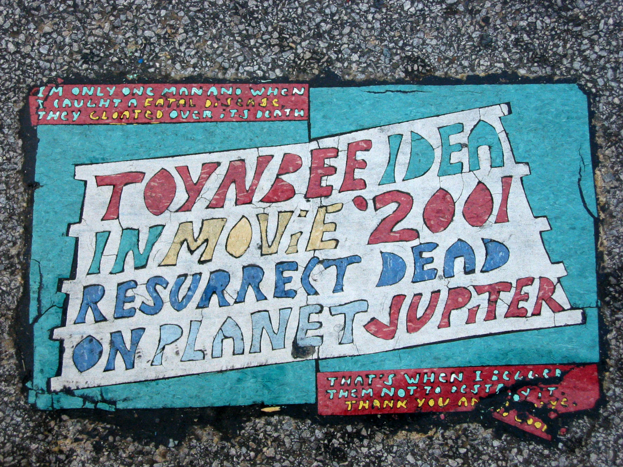 Cleveland Toynbee Tile On West 3rd And