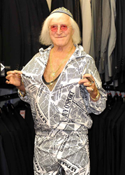 Elderly Jimmy Savile