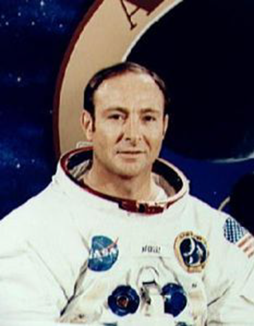 Astronaut and Apollo 14 pilot Edgar Mitchell