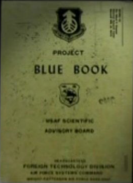 Cover of Project Blue Book