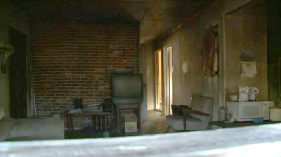 Room where spontaneous combustion victim burned to ashes