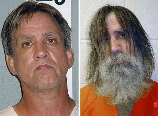 Before and after pictures of Stephen Slevin who was left in solitary confinement for 22 months