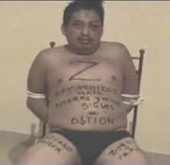 Los Zetas drug cartel torture victim