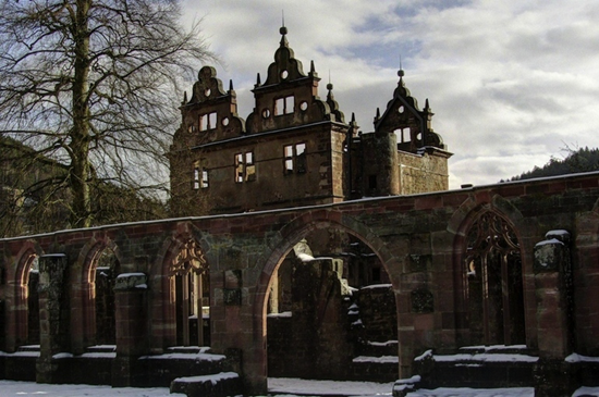 15th century monastery in Black Forest Germany