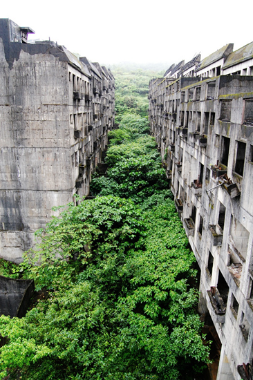Abondoned city of Keelung, Taiwan
