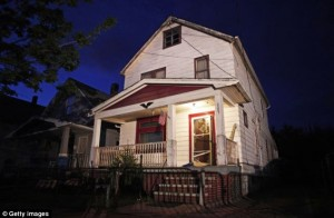 Cleveland, Ohio home where three kidnapped women were found after 10 years