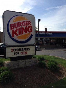 Burger King where Amanda Berry was last seen