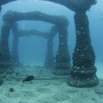 Entrance to Neptune Memorial Reef (Atlantis Memorial Reef) in Florida thumb