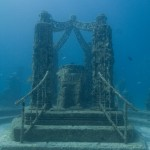 Entrance to Neptune (Atlantis) Memorial Reed - underwater cemetery