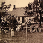 Oldest surviving photograph of the Harrisville Perron haunted house