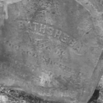 Bathsheba headstone