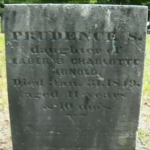 Gravesite of Prudence, the 11-year-old that was raped and murdered at the home