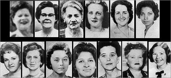 The 13 victims of the Boston Strangler