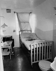 Albert DeSalvo's jail cell in the Walpole State Prison