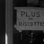 Sign advertising bread in Pont St. Esprit