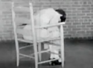 Patient suffering from LSD dosage during United States government experiments