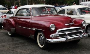 1951 Chevrolet similar to the one found submerged in Foss Lake Oklahoma