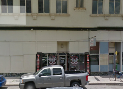 Modern-day location of barbershop owned by Maggio brothers