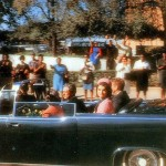 Croft photo showing Kennedy's limo on Elm Street