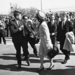 JFK and Jackie just before departing Fort Worth