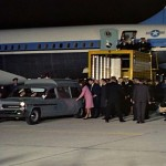 JFK's body arrives in Washington on November 22, 1963