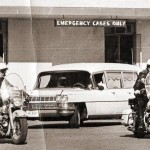 JFK's body leaving Parkland Hospital