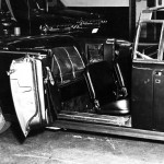 Photo of JFK's limo interior after the assassination