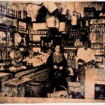Italian-owned grocery story - early 1900's