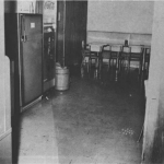 The cafeteria in the Texas School Book Depository