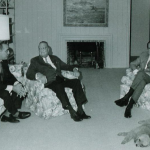 J. Edgar Hoover and Richard M. Nixon