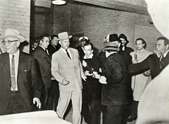 Photo capturing the moment Jack Ruby shot Lee Harvey Oswald