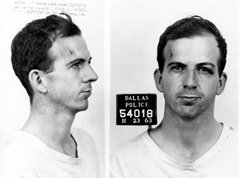 Lee Harvey Oswald mug shot
